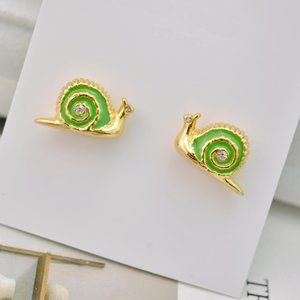 Kate Spade Fashion Cute Snail Earrings